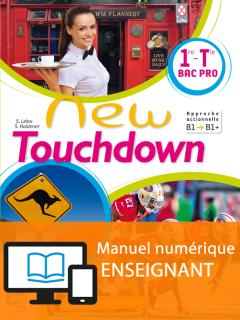 New Touchdown 1re/Tle Bac Pro - Manuel interactif enseignant