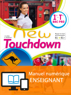 New Touchdown 1re/Tle Bac Pro - Manuel interactif enseignant