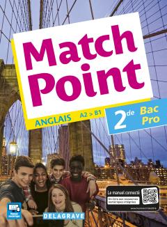 Match Point 2de Bac Pro (2016) - Pochette élève