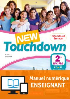 New Touchdown 2de Bac Pro (2018) - Manuel - Manuel numérique enseignant
