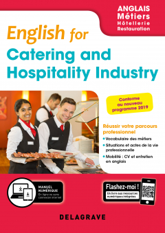 English for Catering and Hospitality Industry - Anglais Bac Pro (2019) - Pochette élève
