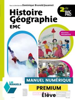 Histoire Géographie EMC 2de Bac Pro (2020) - Manuel numérique élève