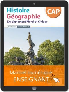 Histoire Géographie EMC CAP (2021) - Pochette - Manuel numérique enseignant