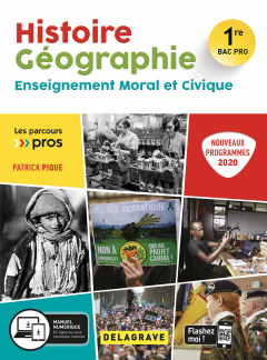 Histoire Géographie EMC 1re Bac Pro (2020) - Pochette élève