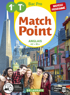 Match Point Anglais 1re, Tle Bac Pro (2020) - Pochette élève