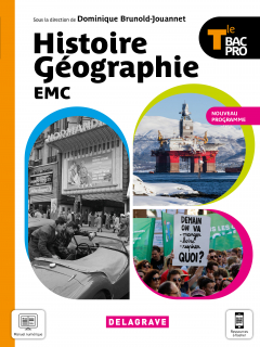 Histoire Géographie EMC Tle Bac Pro (2021) - Manuel élève