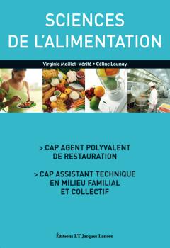 Sciences de l'alimentation CAP APR, ATMFC (2006) - Manuel élève