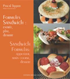 Formules sandwichs : entrée, plat, dessert - Édition français anglais