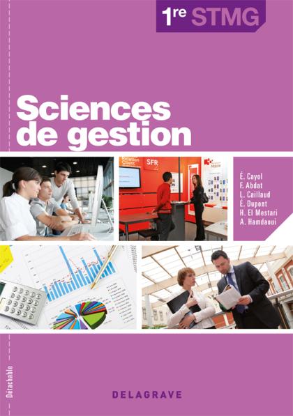 Sciences de gestion 1re STMG (2012) - Pochette élève