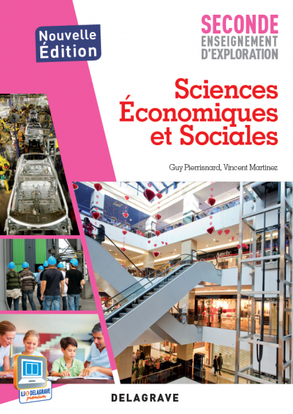 Sciences économiques et sociales - 2de (2013) - Pochette élève