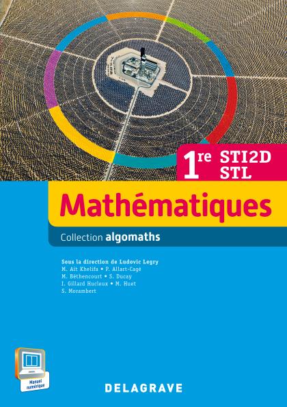 Mathématiques 1re STI2D/STL (2015) - Manuel élève