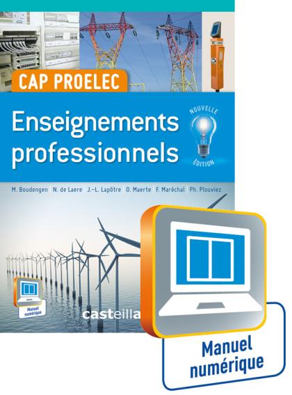 Enseignements professionnels CAP PROELEC - Manuel interactif élève