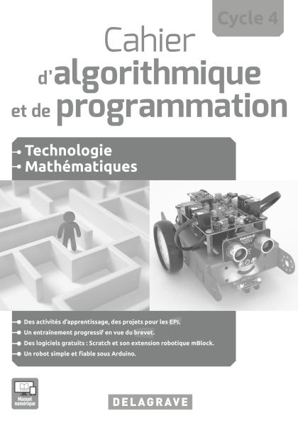 Cahier d'algorithmique et de programmation Cycle 4 (2016) - Livre du professeur
