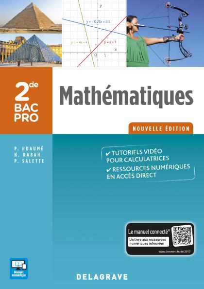 Mathématiques 2de Bac Pro (2017) - Pochette élève