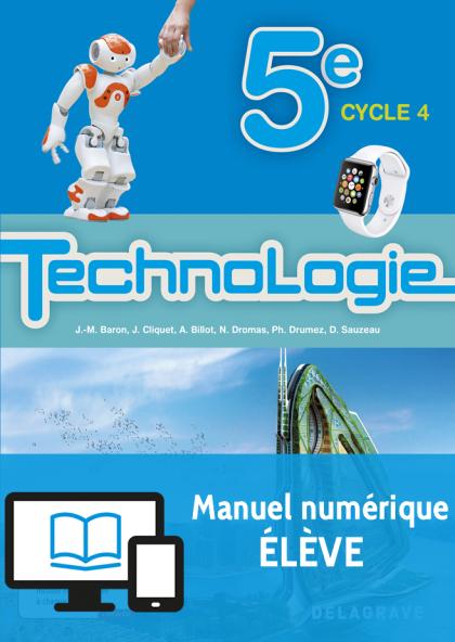 Bimanuel Technologie 5e (2017) - Manuel numérique élève