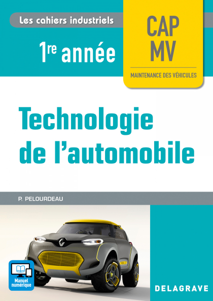 Technologie de l'automobile 1re année CAP MV (2017) - Pochette élève