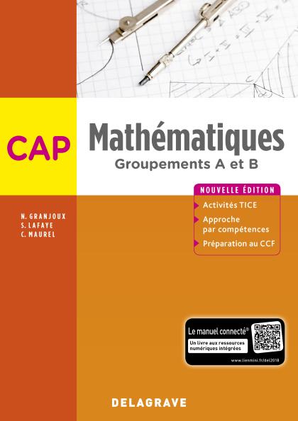 Mathématiques CAP (2018) - Pochette élève