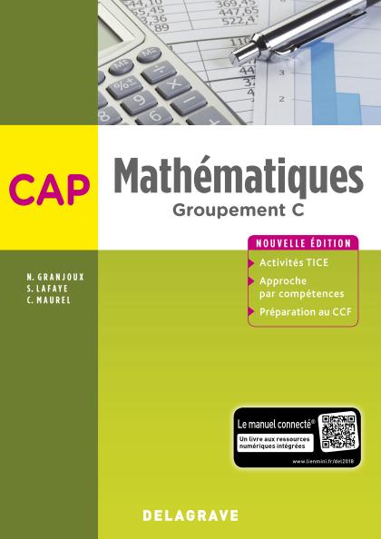 Mathématiques CAP Groupement C (2018) - Pochette élève