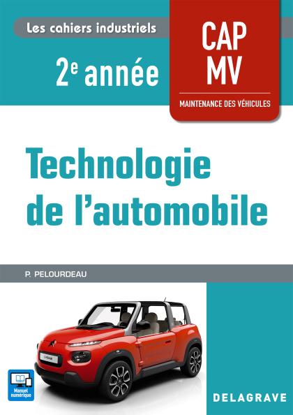 Technologie de l'automobile 2e année CAP MV (2018) - Pochette élève