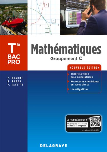 Mathématiques Tle Bac Pro Groupement C (2018) - Pochette élève