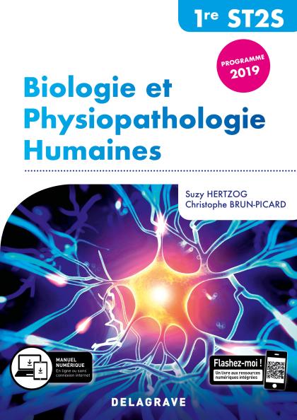Biologie et physiopathologie humaines 1re ST2S (2019) - Pochette élève