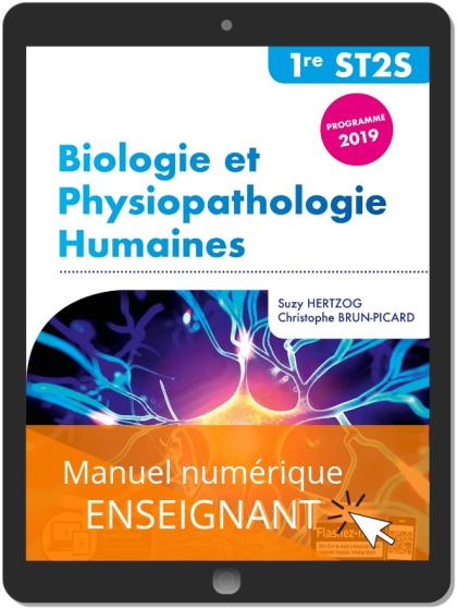 Biologie et physiopathologie humaines 1re ST2S (2019) - Manuel numérique enseignant