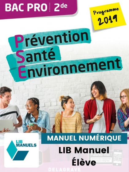 Prévention Santé Environnement (PSE) 2de Bac Pro (Ed. num. 2021) - Pochette - Manuel numérique élève