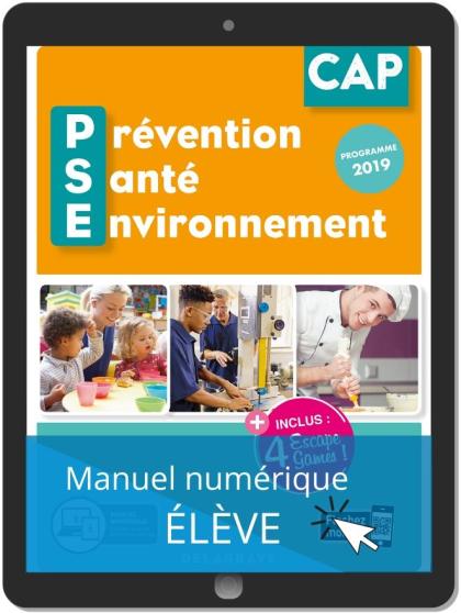 Prévention Santé Environnement (PSE) CAP (2020) - Manuel numérique élève