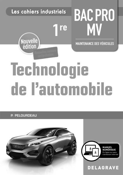 Technologie de l'automobile 1re Bac Pro MV (2020) - Livre du professeur pochette