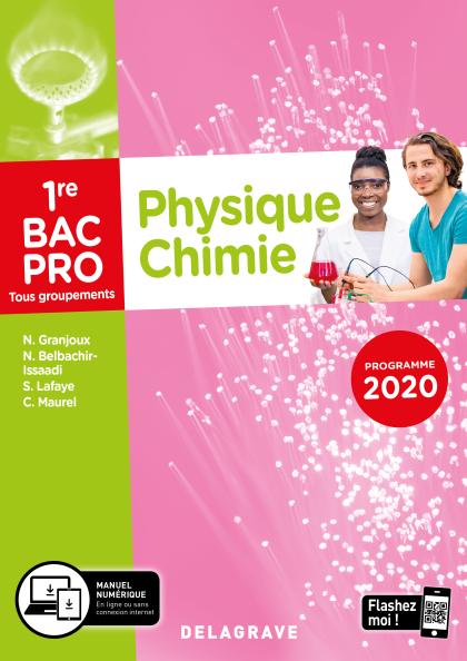 Physique - Chimie 1re Bac Pro (2020) - Pochette élève