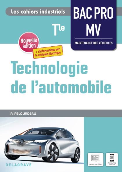 Technologie de l'automobile Tle Bac Pro MV (2021) - Pochette élève