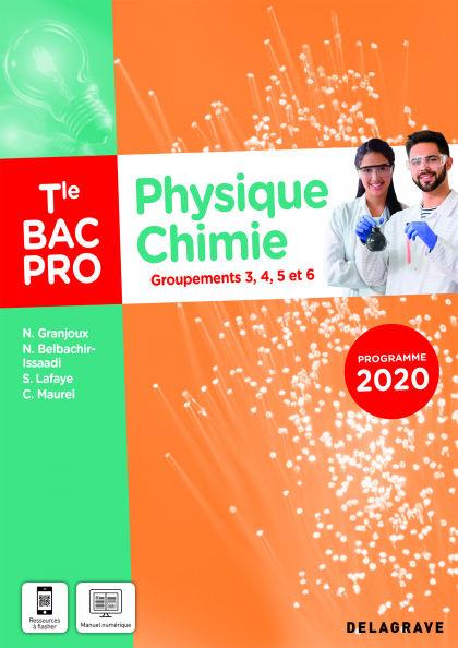 Physique - Chimie Tle Bac Pro G3, G4, G5, G6 (2021) - Pochette élève