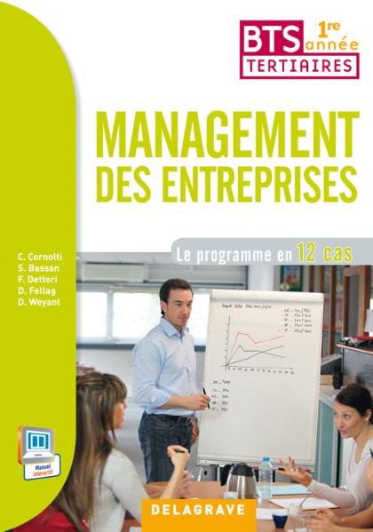 Management des entreprises - 1re année BTS (2014) - Pochette élève