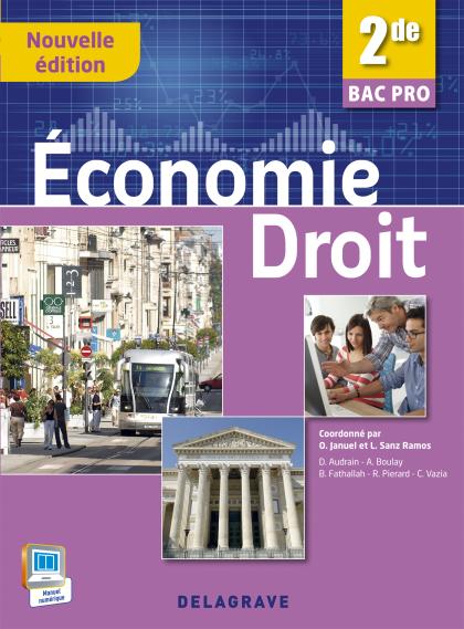 Économie - Droit 2de Bac Pro (2015) - Pochette élève