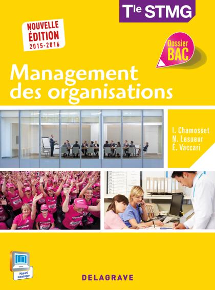 Management des organisations Tle STMG (2015) - Pochette élève