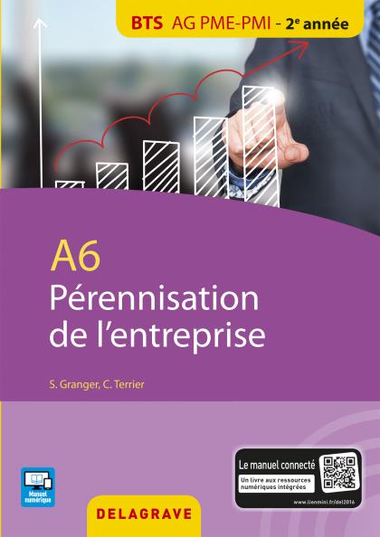A6 Pérennisation entreprise BTS AG PME-PMI (2016) - Pochette élève