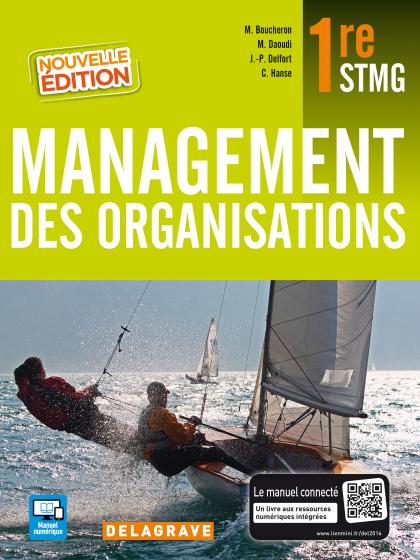 Management des organisations 1re STMG (2016) - Manuel élève