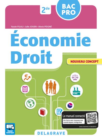 Économie Droit 2de Bac Pro En contextes (2016) - Pochette élève