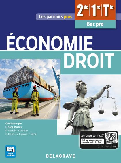 Économie Droit 2de, 1re, Tle Bac Pro (2017) - Pochette élève