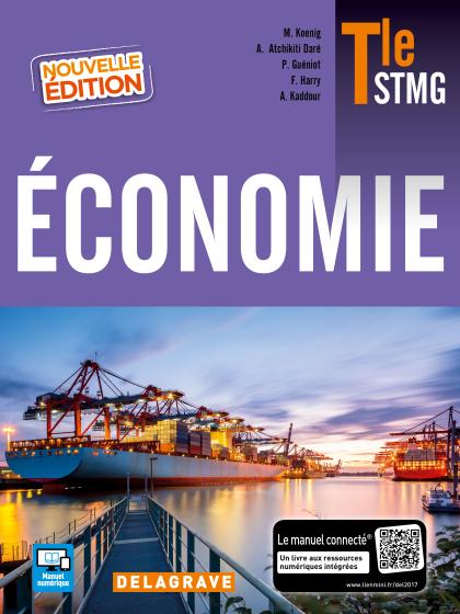 Économie Tle STMG (2017) - Manuel élève