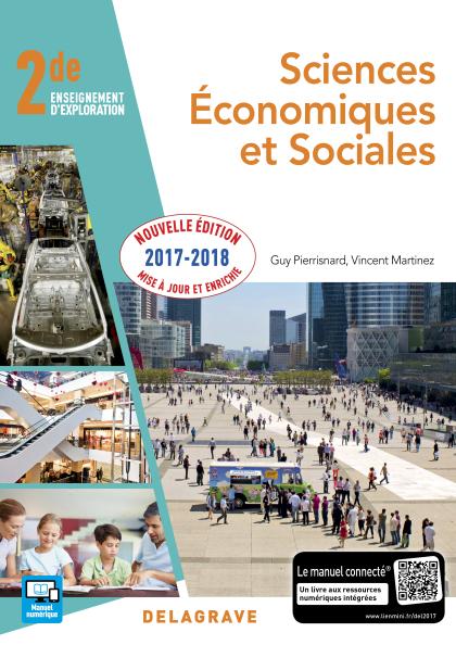 Sciences économiques et sociales (SES) 2de (2017) - Pochette élève