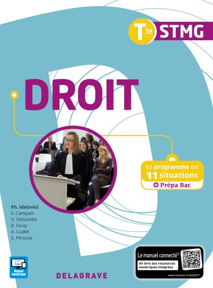 Droit Tle STMG (2017) - Pochette élève