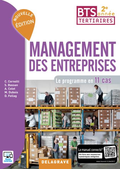 Management des entreprises BTS 2e année (2017) - Pochette élève