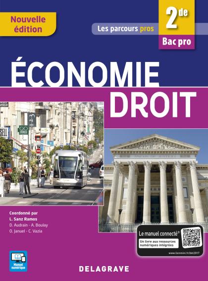 Économie Droit 2de Bac Pro (2017) - Pochette élève