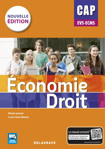 Économie Droit CAP EVS et ECMS 1re et 2e années (2017) - Pochette élève