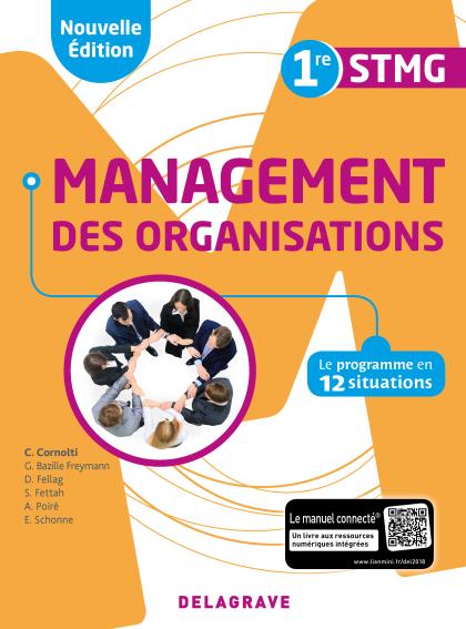 Management des organisations 1re STMG (2018) - Pochette élève