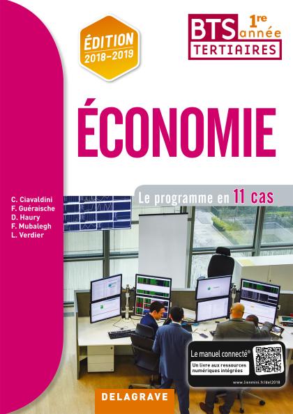 Economie BTS 1re année (2018) - Pochette élève