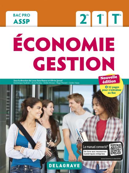 Économie Gestion 2de, 1re, Tle Bac Pro ASSP (2018) - Pochette élève