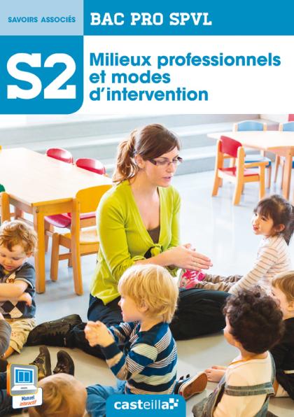 S2 - Milieux professionnels et modes d'intervention 2de, 1re, Tle Bac Pro SPVL (2014) - Pochette élève