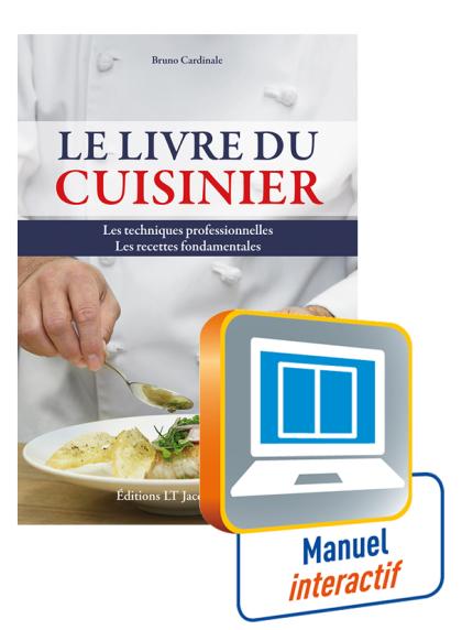 Le livre du cuisinier - Manuel interactif enseignant